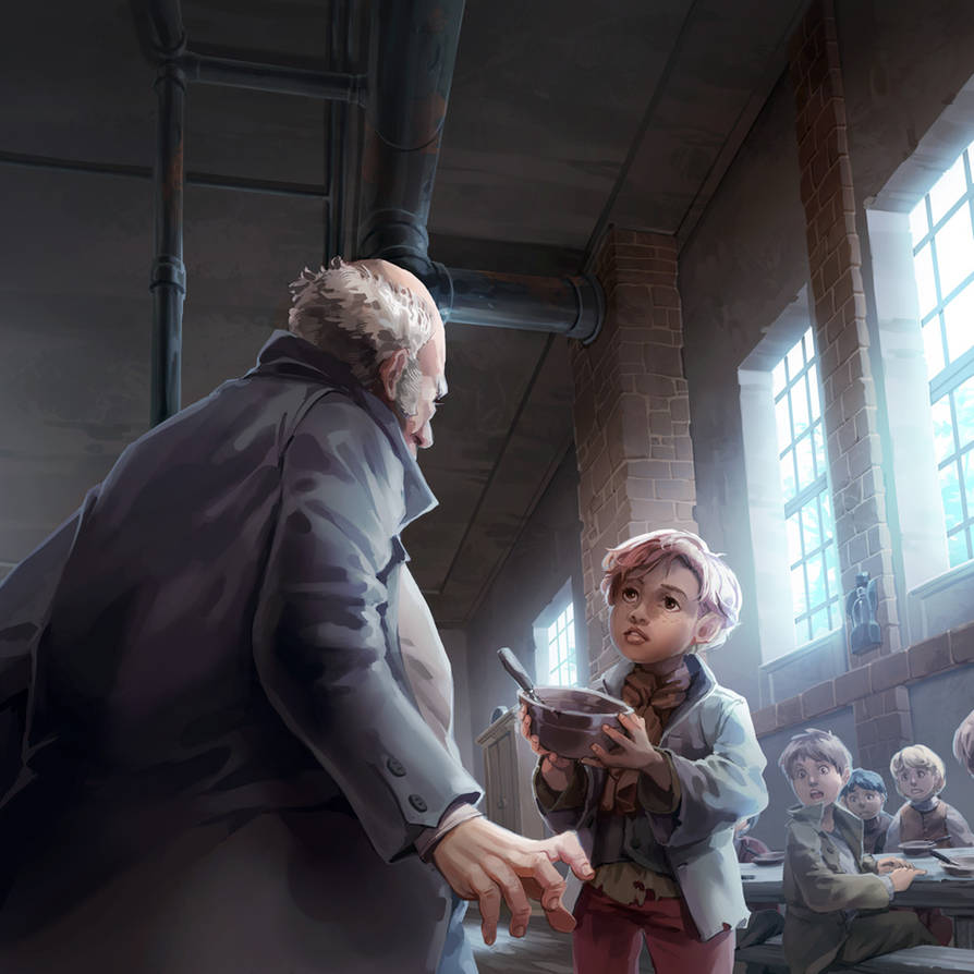 Oliver Twist by nikogeyer