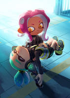 Carry Me, Agent 8! by nikogeyer