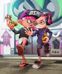 Making Friends in Turf War by nikogeyer