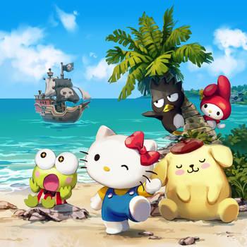 Hello Kitty: Gebaeck fuer Piraten