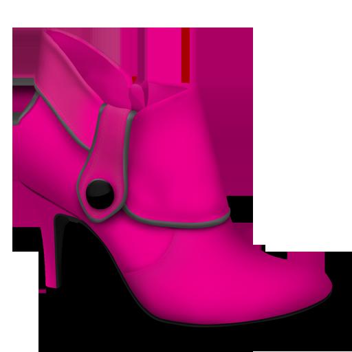 zapatilla rosa by PatyJonatica