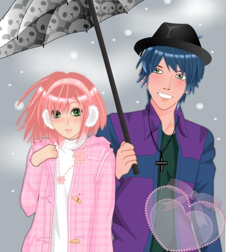 Winter Couple by ccaermz