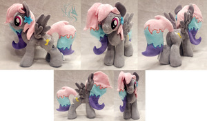 Seraphim Stardust - Custom Plush by Fire-Topaz