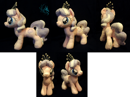 Diamond Tiara - Custom Plush by Fire-Topaz