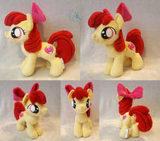 AppleBloom - Custom Plush by Fire-Topaz
