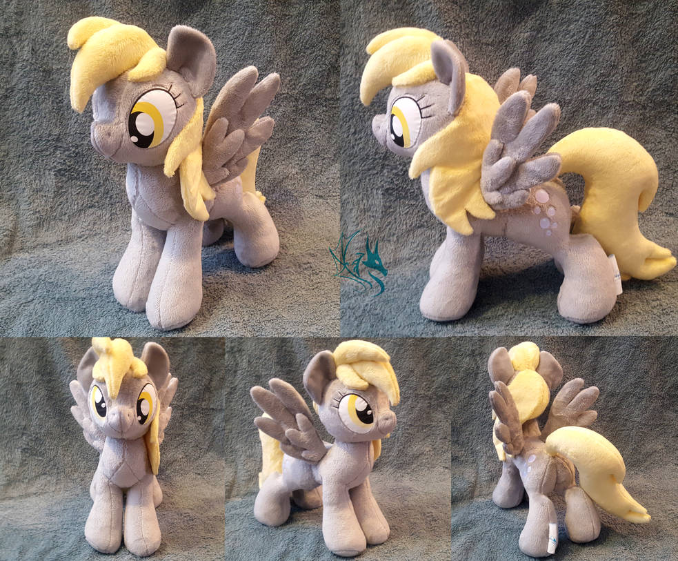 Derpy - Custom Plush by Fire-Topaz