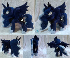 Luna - Custom Plush by Fire-Topaz
