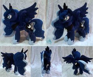 Luna - Custom Plush by Fire-Topaz