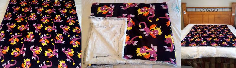 Spyro - Custom Fan Blanket
