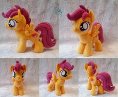 Scootaloo - Custom Plush by Fire-Topaz
