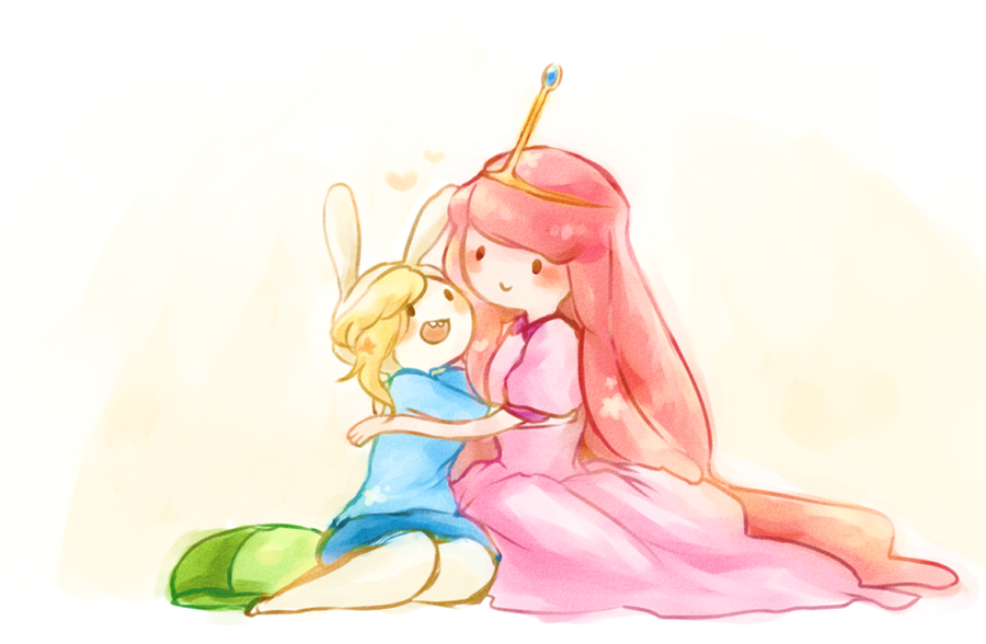 Fionna and Princess bubblegum by Torchh