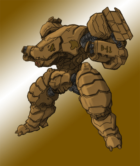 GDI 'Wolverine' class walker by rooki1