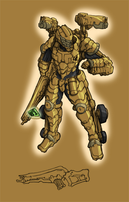 GDI Rifleman by rooki1