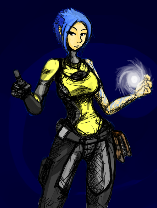 Borderlands 2 - Maya the Siren by rooki1