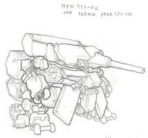 M7A2 Main battle walker by rooki1