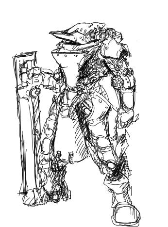 'Allelusia' clockwork armor by rooki1