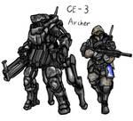 American Armored Combat Exoframe