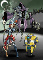 Gaige the Necromancer by rooki1