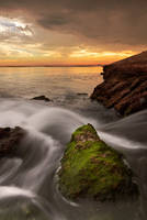 flowing tide by M-O-S