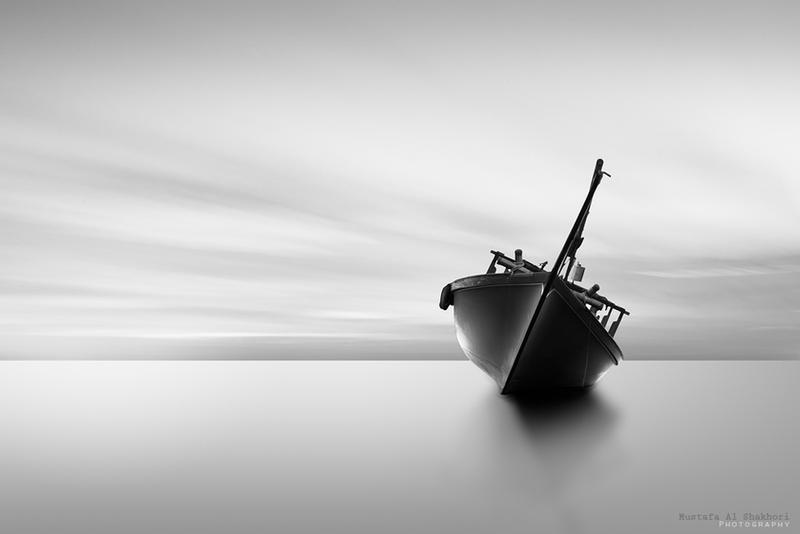Sleepy boat by M-O-S