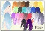 Hair Titanium CSU Models
