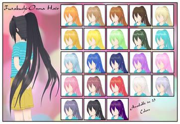 Futakuchi-Onna Hair CSU Models by LadiSilverfox