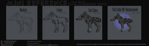 Mini Reference Commission Information
