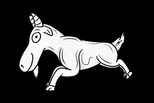 Derpy Goat Freebie