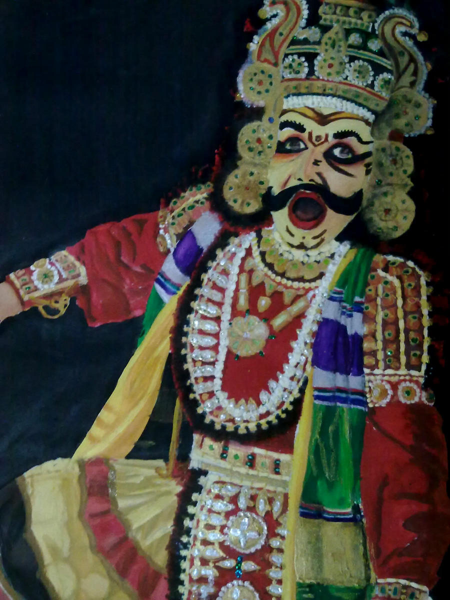 Yakshagana By Aks1112 On Deviantart