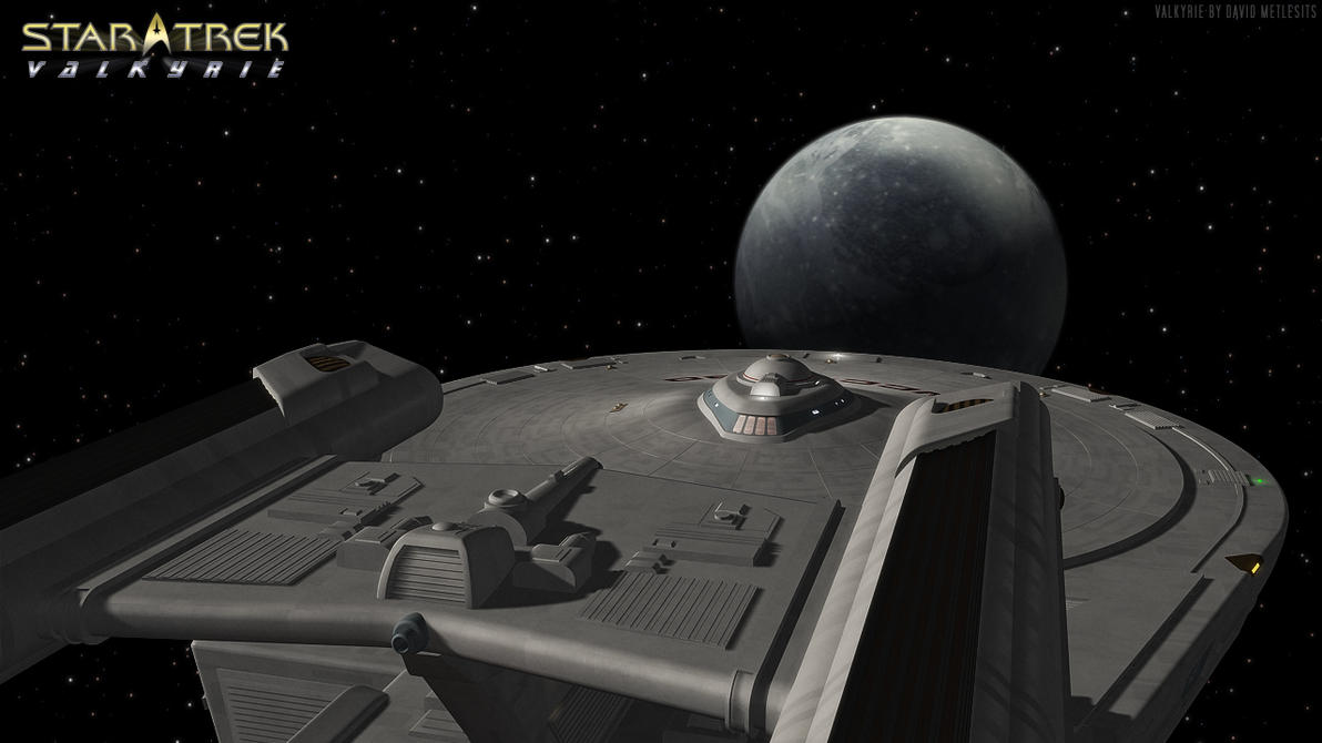 USS Valkyrie Approaching Delta Egon VI by VSFX