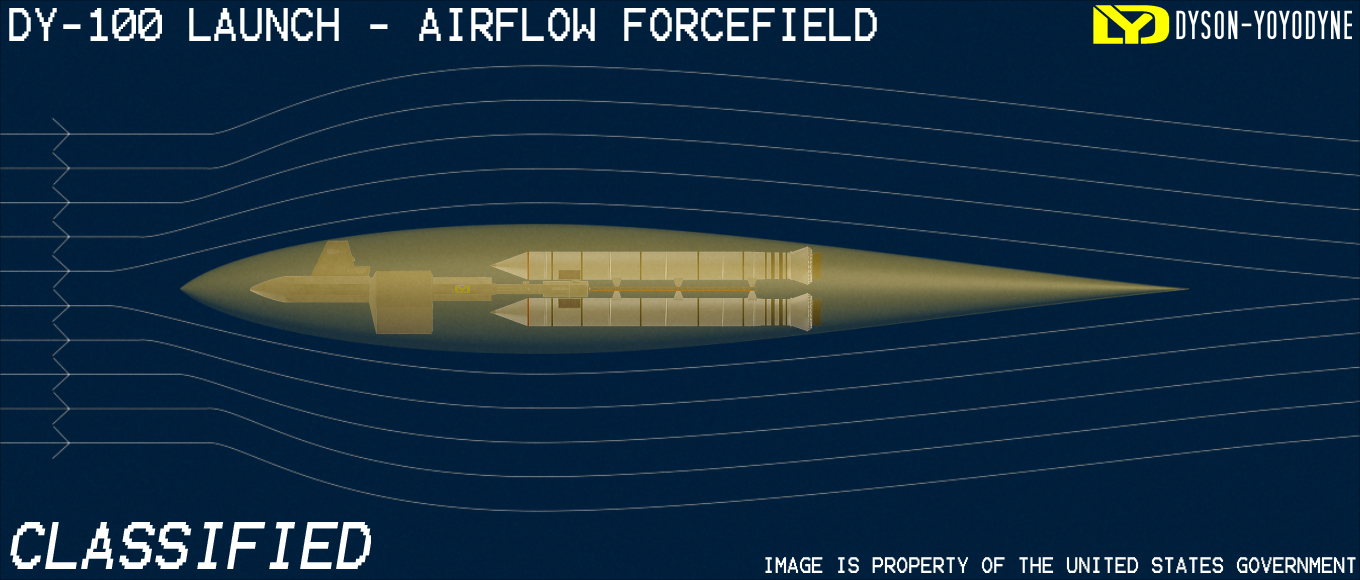 DY-100 Launch - Airflow Forcefield by VSFX