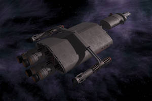 Valiant - Earth's First Starship (Redo) by VSFX