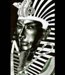 Tutankhamun is looking at you