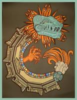 Quetzalcoatl by shichinin-tai