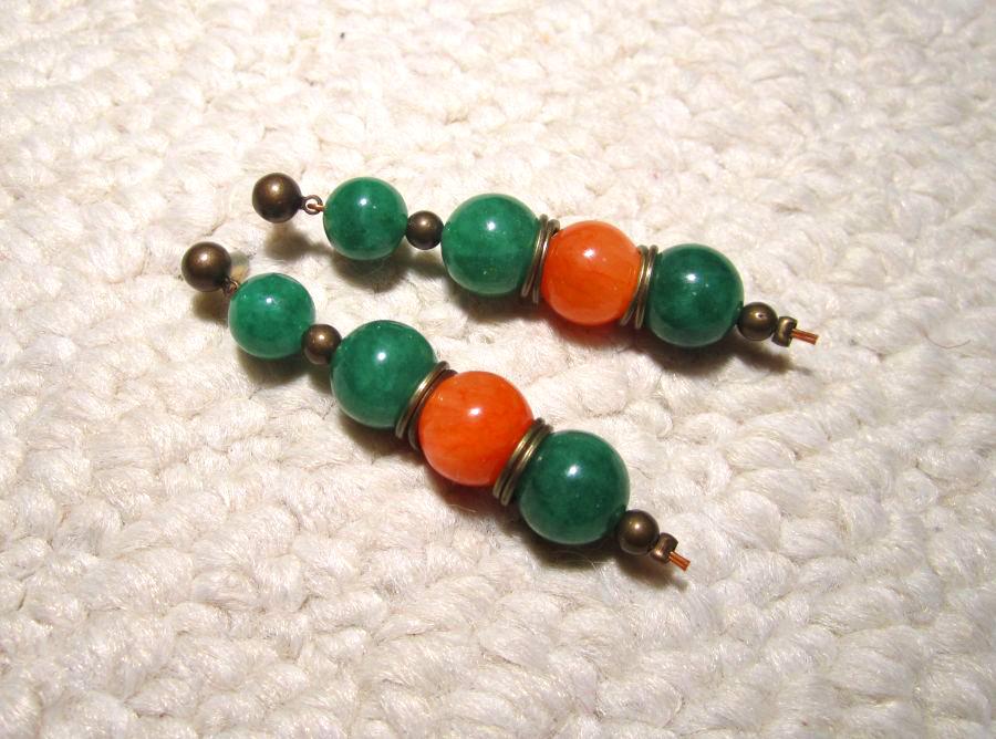 Utatane Koharu's earrings by ilenai