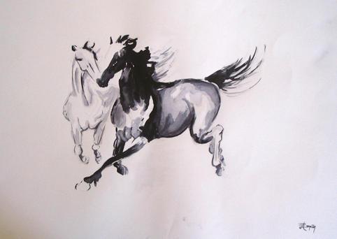Horses by EmreTan