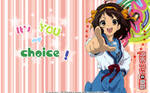 It's you my choice