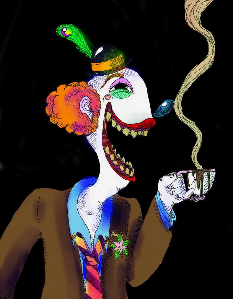 the clowns smile 'tears of a clown' is a figure of speech which generally means putting up a  stronger (or different) self putting up a smiling face even in a time when you can  be.