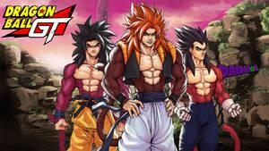 Dragon Ball GT Super Saiyan 4 By: kenji893