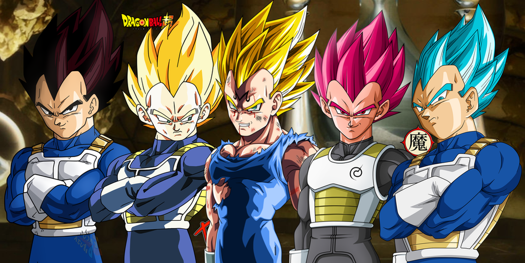 Vegeta all forms by daimaoha5a4 on deviantart - Vegeta all forms ...