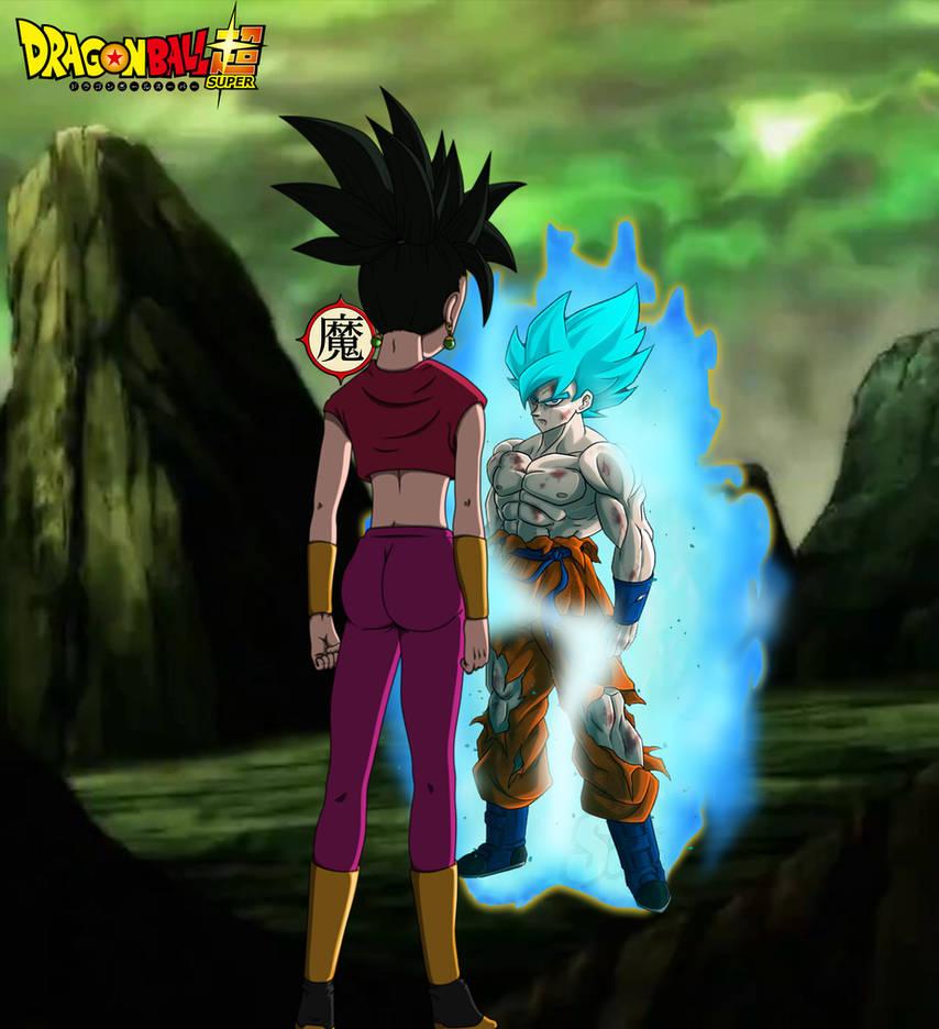 Goku Super Saiyan Blue Vs Kefla By Daimaoha5a4 On Deviantart