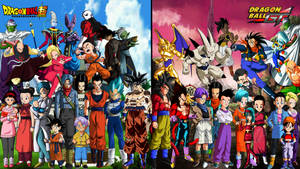Dragon Ball Super X Dragon Ball Gt