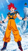Goku ssj God New Movie Style Wallpaper