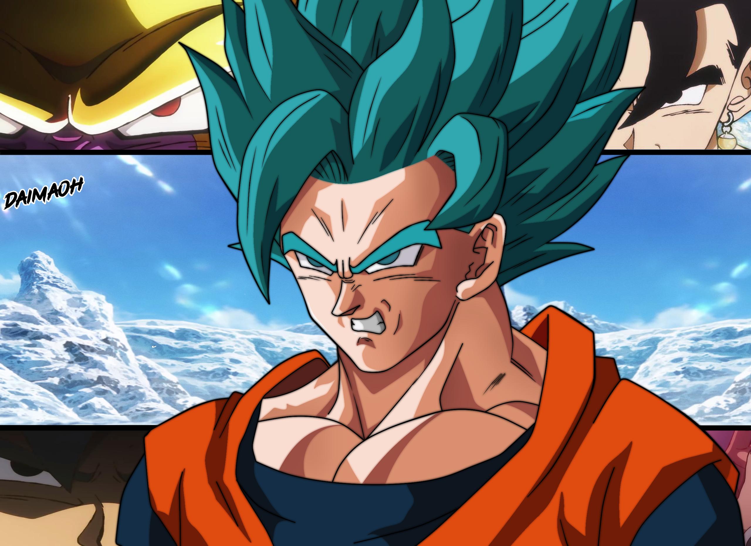 Goku Super Saiyan Blue 2 Wallpaper By Daimaoha5a4 On Deviantart