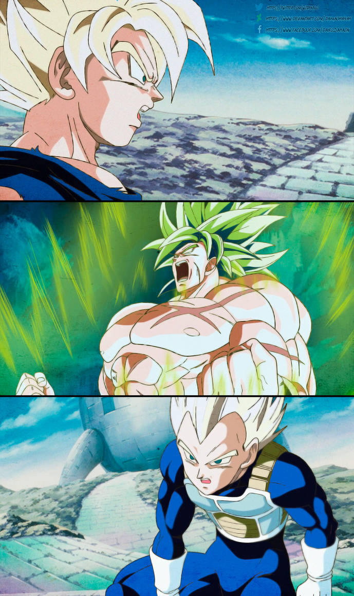 Dragon Ball Super Broly 1993 Style By Daimaoha5a4 On Deviantart