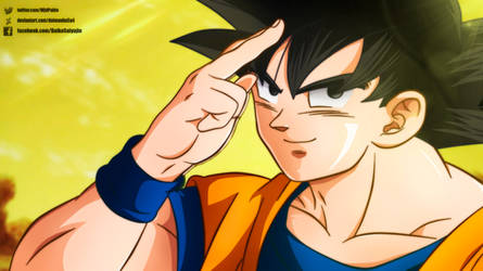 It's Goku, but Broly, call me Kakarot!