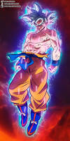 Goku Mastered Ultra Instinct in Broly Movie by daimaoha5a4