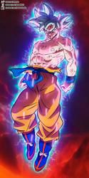 Goku Mastered Ultra Instinct in Broly Movie by daimaoha5a4