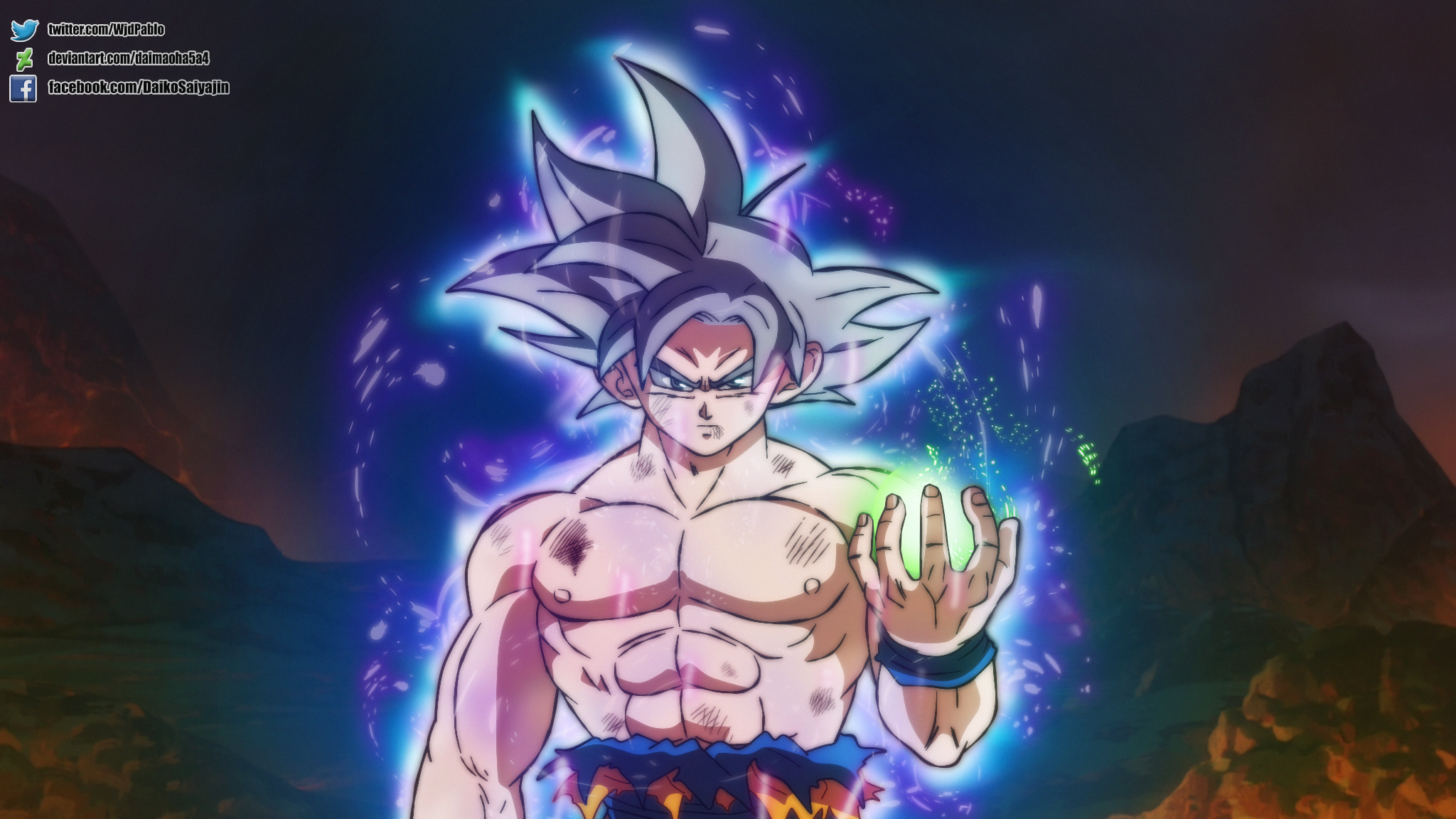 Goku Uiiiiii By Daimaoha5a4 On Deviantart