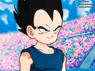 Vegeta Jr Shintani Style by daimaoha5a4